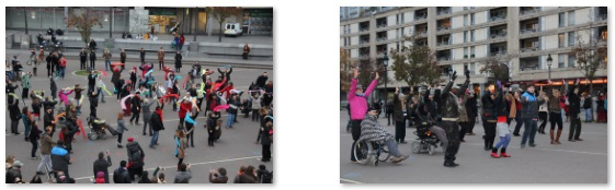 Reduit flashmob